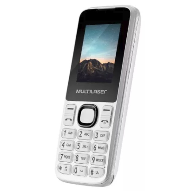 CELULAR UP DUAL CHIPS P9033 BRANCO MULTILASER