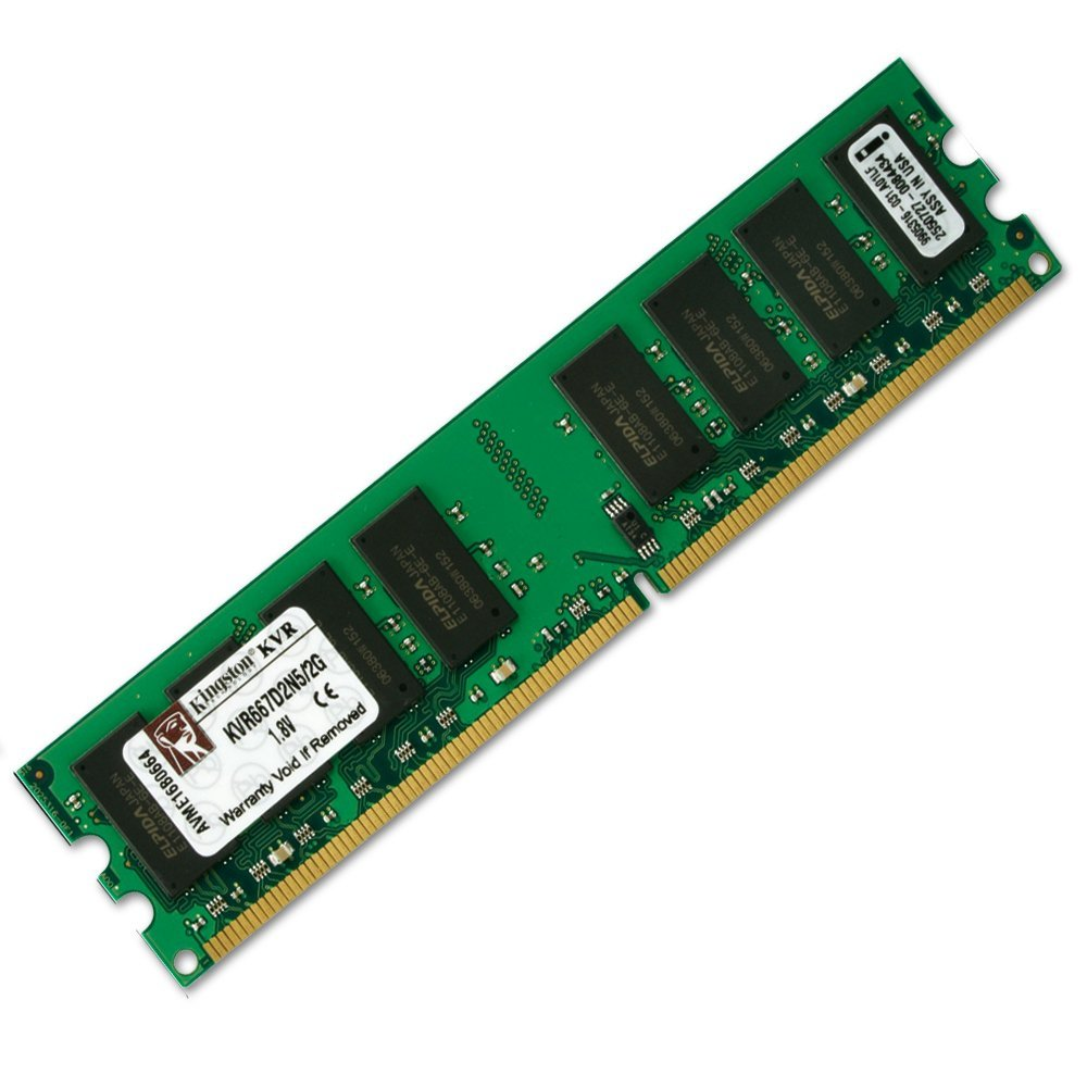MEMORIA DDR2 2GB 667MHZ KINGSTON