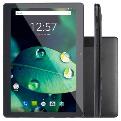 "TABLET 10"" 16GB 4G M10 NB287 PRETO MULTILASER"
